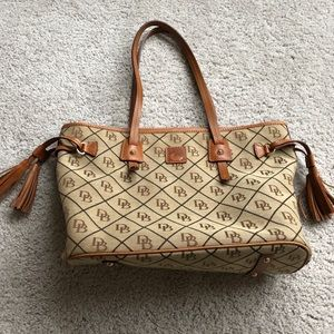 Dooney and Burke Davis Tassel Bag - Perfect Cond.